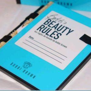 Bobbi Brown BEAUTY RULES face palette